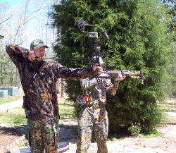 Yamaha Outdoors Tips — Off-Season Bowhunting Practice