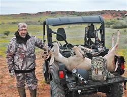 Yamaha Outdoors Tips — Late-season Deer Hunting