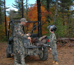 Whether you have children of your own or not, make a resolution this year to take a kid hunting.