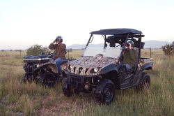 Yamaha Outdoors Tips — Shed Hunting