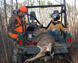 Yamaha Outdoors Tips — Getting your Deer Out of the Woods