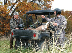 Yamaha Outdoors Tips — Hunting the Peak of Rut