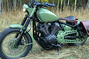 Yard Built Bolt Scrambler by Als Cycle Inc.