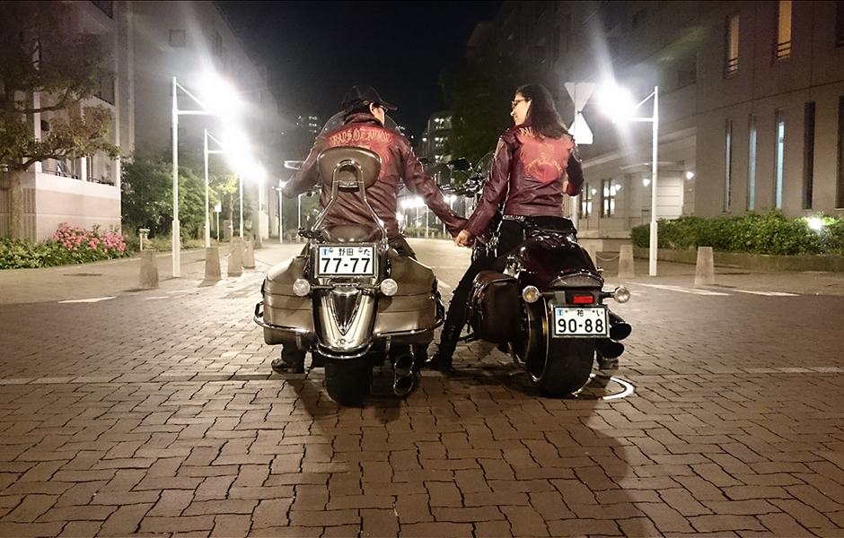 Roadliner S – 50,000 milesRaiderWhat do you love most about touring on your Star? Star riding lovers and friends. In Japan, Roadliner and Stratoliner are not sold. But we love stars. So, I made a touring club for only the XV 1900 owners.