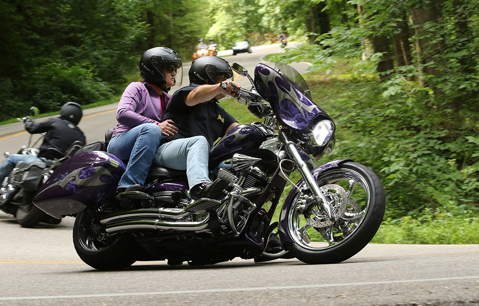 Raider – 28,000 milesWhat do you love most about touring on your Star? Looks @ reliability