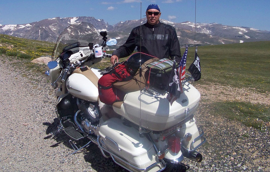Royal Star Venture – 58,000 milesWhat do you love most about touring on your Star? I enjoy riding and seeing the country.