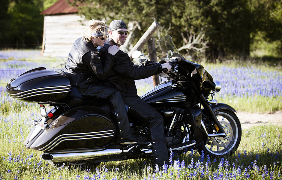 Stratoliner Midnight – 30,000 milesWhat do you love most about touring on your Star? Big bike, comfortable.
