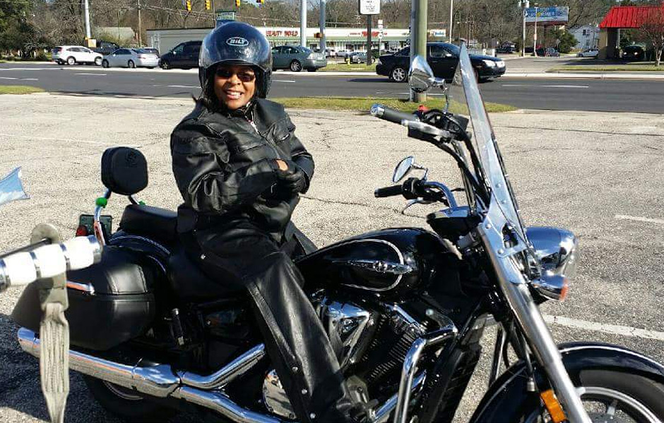 V Star 1300 Tourer – 10,200 milesWhat do you love most about touring on your Star? The comfortable ride and turning heads when people realize I am a female.