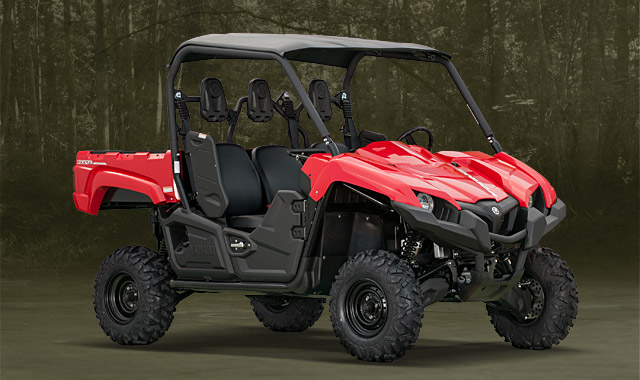 2014 yamaha viking pictures 360 degree view red