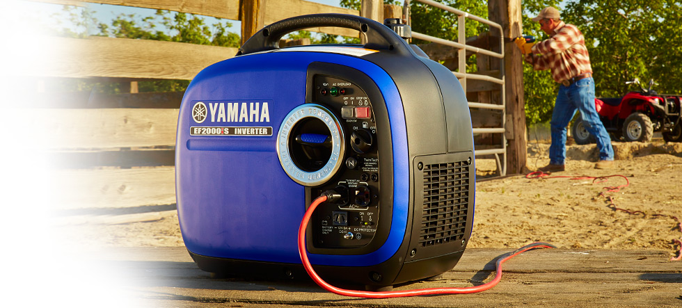 Yamaha ef2000is 2000 watt portable inverter generator for Yamaha generator 2000