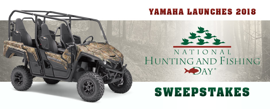 National Hunting & Fishing Day Sweepstakes
