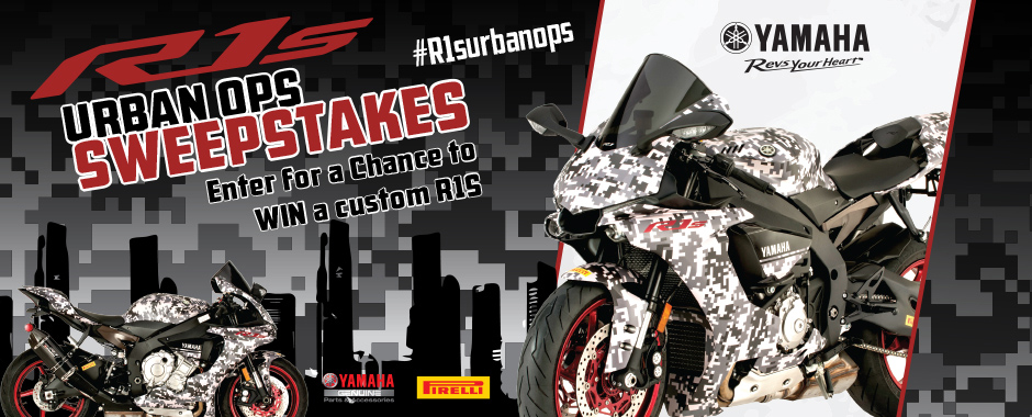 R1S Urban Ops Sweepstakes
