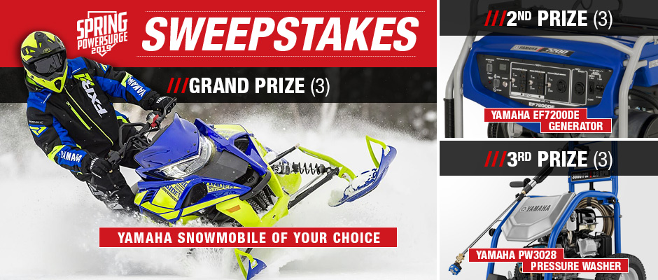 2019 Spring Power Surge Sweepstakes