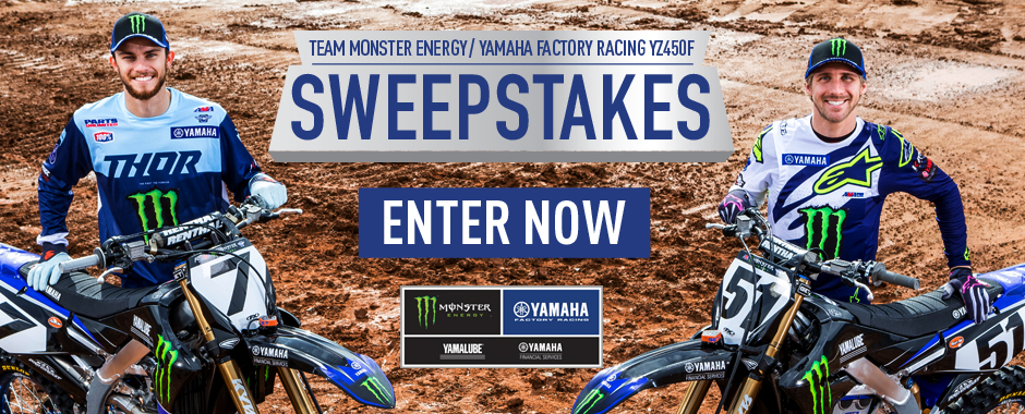 YAMAHA 2019 Team Replica Yamaha YZ450F Sweepstakes