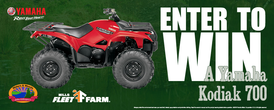 2017 Wisconsin's Waters & Woods Kodiak 700 4WD Sweepstakes
