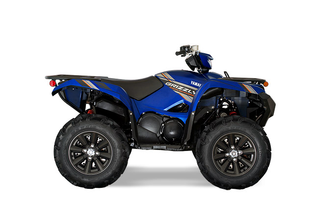 2019 Yamaha Grizzly Eps Se Utility Atv 360 View