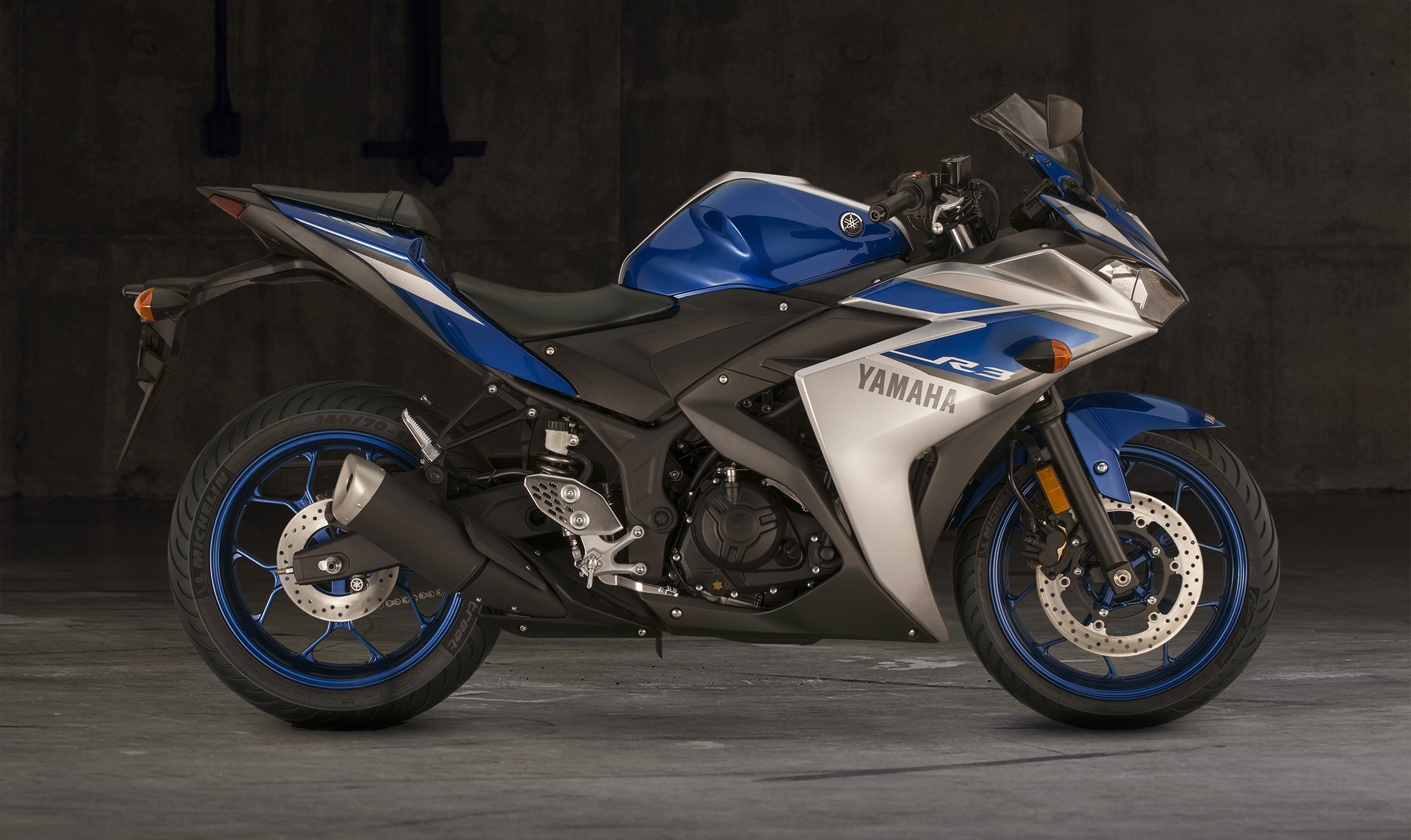 2015 Yamaha Yzf R3 Supersport Motorcycle 360 View
